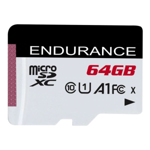 Карта памяти microSDXC UHS-I U1 KINGSTON High Endurance 64 ГБ 95 МБ/с Class 10 SDCE/64GB