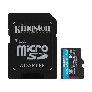 Карта памяти Kingston microSDXC UHS-I Speed Class 3 (U3) 64GB SDCG/64GB