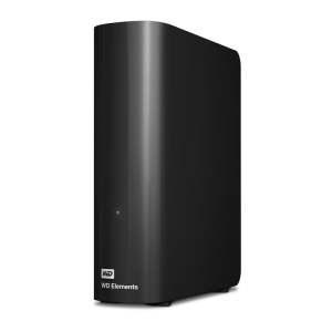 Внешний жесткий диск (HDD) Western Digital Original USB 3.0 4Tb WDBWLG0040HBK-EESN Elements Desktop 3.5