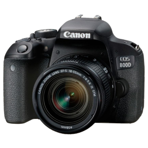 Зеркальный фотоаппарат CANON EOS 800D Kit 18-55 IS STM 1895C002