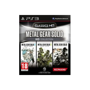 Игра для PS3 Metal Gear Solid HD Collection