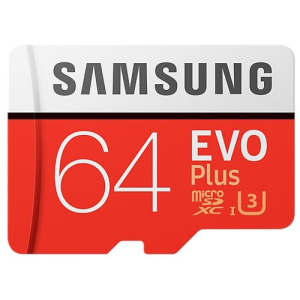 Карта памяти Samsung EVO Plus MB-MC64GA 23731