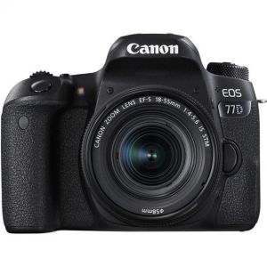 Фотоаппарат зеркальный Canon EOS 77D Kit EF-S 18-55 mm F4-5.6 IS STM
