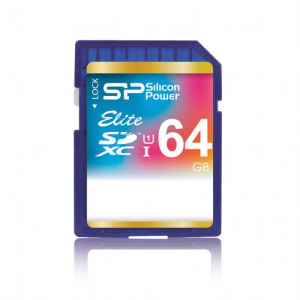 Карта памяти SDXC 64GB Silicon Power Class 10 Elite UHS-I (SP064GBSDXAU1V10)