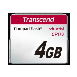 Карта памяти 4Gb Transcend 170x Industrial Compact Flash TS4GCF170