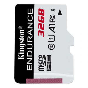 Карта памяти 32Gb microSDHC Kingston High Endurance UHS-I Class 10 U1 (SDCE/32GB)
