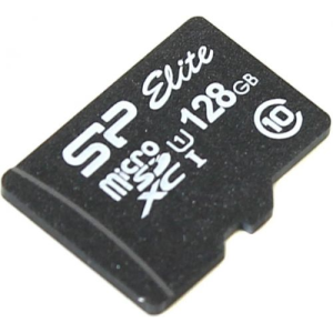 Карта памяти Silicon-Power ELITE microSDXC 128GB UHS Class 1 Class 10 SP128GBSTXBU1V10SP