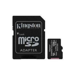 Карта памяти microSDXC UHS-I U1 KINGSTON Canvas Select 128 ГБ 80 МБ/с Class 10 SDCS/128GB