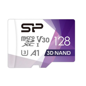 Карта памяти Silicon Power Superior Pro microSDXC 128GB Class 10 UHS U3 (SP128GBSTXDU3V20AB)