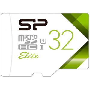 Карта памяти Silicon-Power ELITE microSDHC 32GB UHS Class 1 Class 10 SP032GBSTHBU1V10-SP