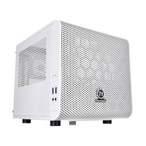 Компьютерный корпус Thermaltake Core V1 Snow Edition без БП (CA-1B8-00S6WN-01) white