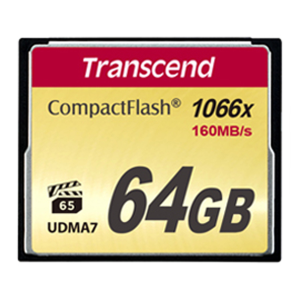 Карта памяти Compact Flash 64Gb Transcend 1000x