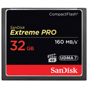 Карта памяти Compact Flash Card 32Gb SanDisk Extreme Pro UDMA 7 SDCFXPS-032G-X46
