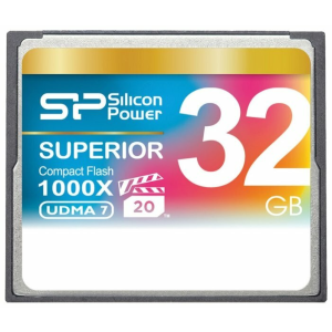Карта флэш-памяти Silicon Power Superior CF 1000X 32GB