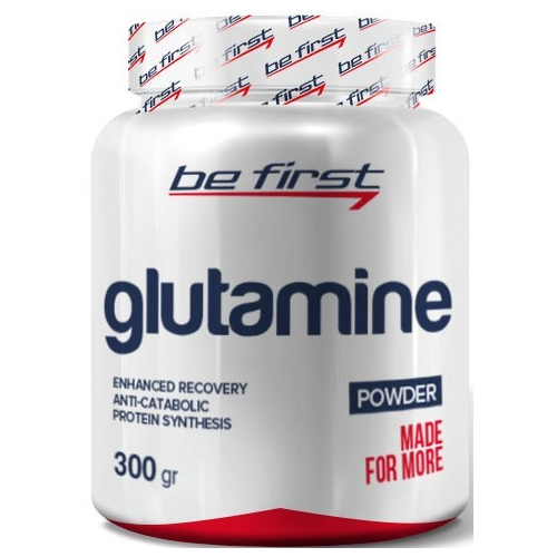 Be First Glutamine Powder (300 г.) Ежевика