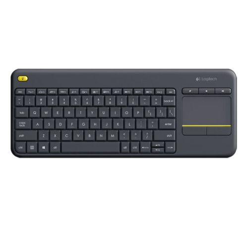 Клавиатура Logitech K400 Plus Wireless Touch Keyboard Black USB 920-007147
