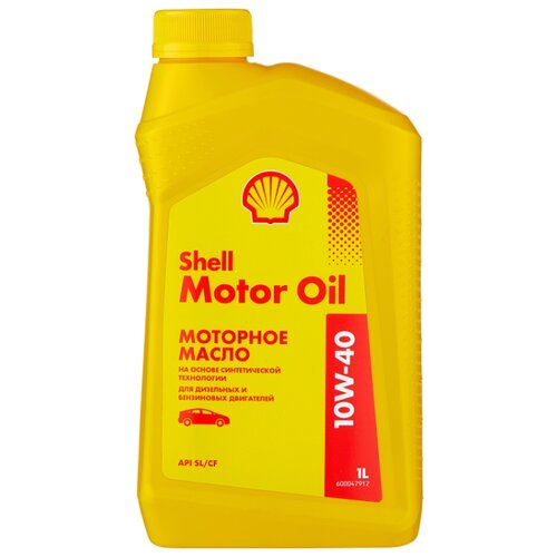 Моторное масло SHELL Motor Oil 10W-40 1 л