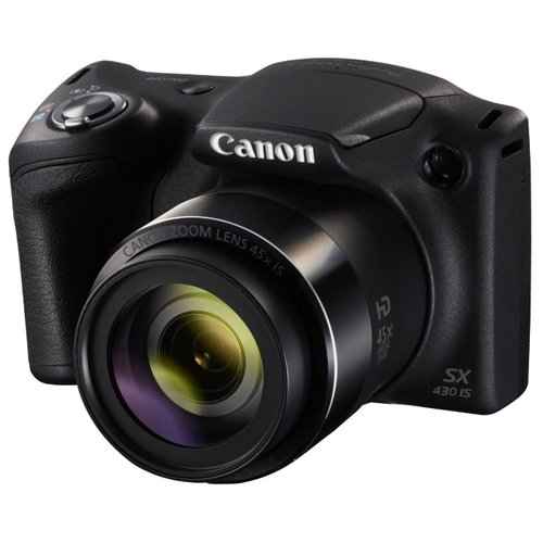 Фотоаппарат Canon PowerShot SX430 IS черный