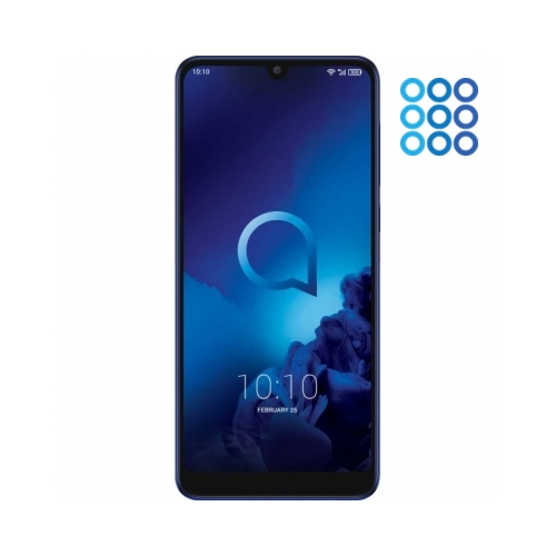 Смартфон Alcatel 3L 5039D 16Gb 2Gb (2019) синий (синий)