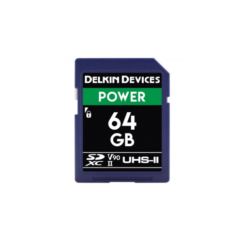 Карта памяти Delkin Devices Power SDXC 64GB 2000X UHS-II 300MB/s / 250MB/s (DDSDG200064G) (б.у. состояние NEW) б/у-Ф1-К-2020-09-15-03