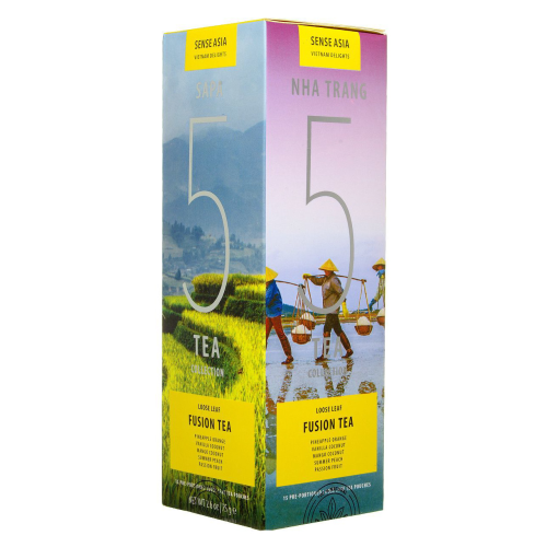Набор чая Sense Asia Vietnam Delights collection Fusion Tea 75 г